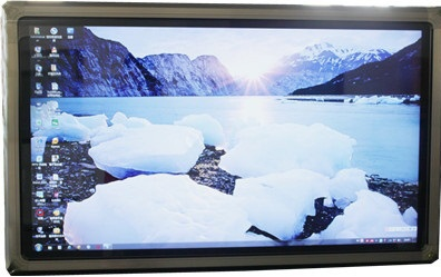Touch Screen 55 Lcd Whiteboard Tv With Pc All In One Display