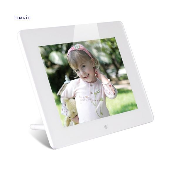 lcd digital photo frame clock